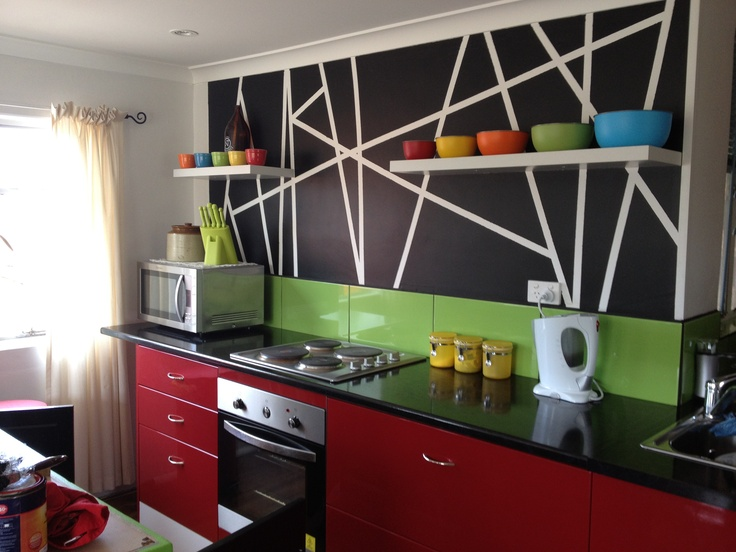 New colorful kitchen !!