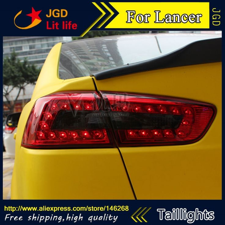 422.75$  Watch now - http://alinqu.worldwells.pw/go.php?t=32240418135 - Car Styling tail lights for Mitsubishi Lancer 2010-2013 LED Tail Lamp rear trunk lamp cover drl+signal+brake+reverse 422.75$