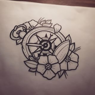 Traditional compass tattoo en pinterest compass tattoo br 250 jula y