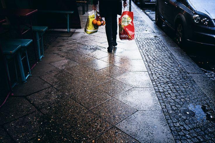 Samstag, 20.02., 16.00 Uhr – Kreuzberg, Adalbertstraße: Go green or go home. © Borkeberlin
