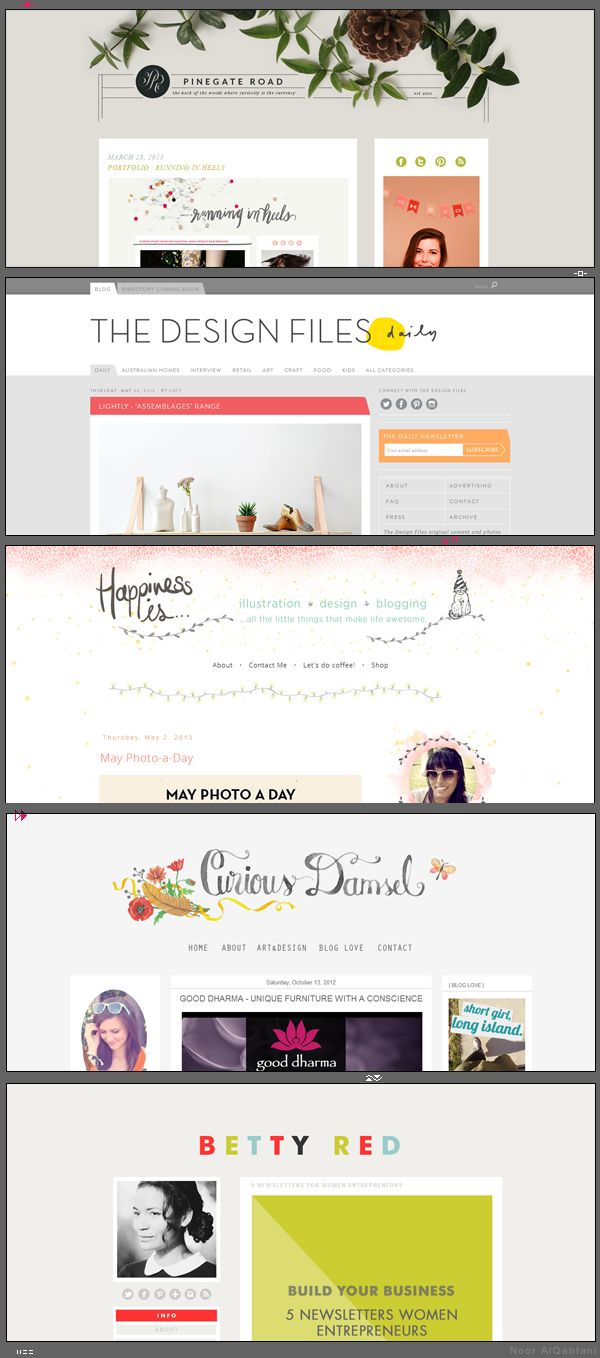 // beautiful blog designs