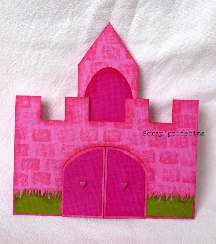 Scrap'ptiterima: Tutoriel carte château de princesse