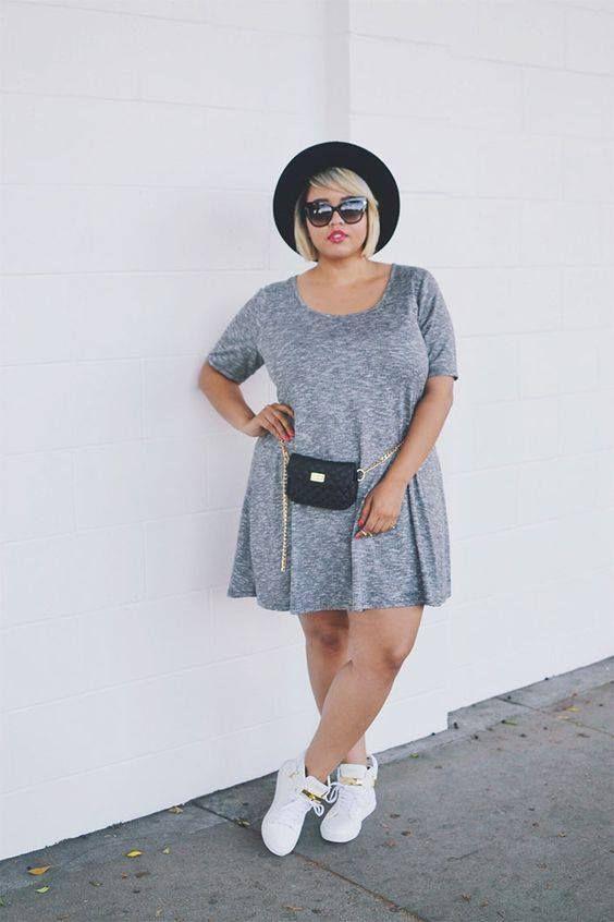 plus size vestido