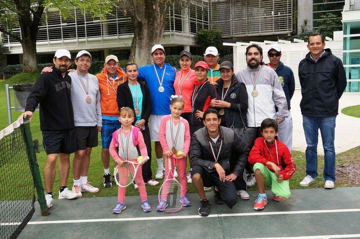 Concluyó el torneo de tenis de la amistad en el club Campestre ~ Ags Sports