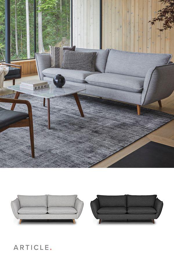 Avem Wren Gray Sofa Seating
