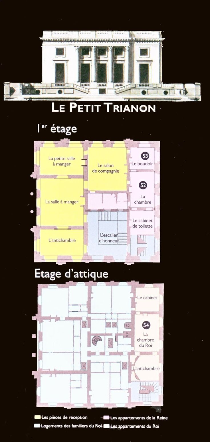 Plans du Petit Trianon - Page 2