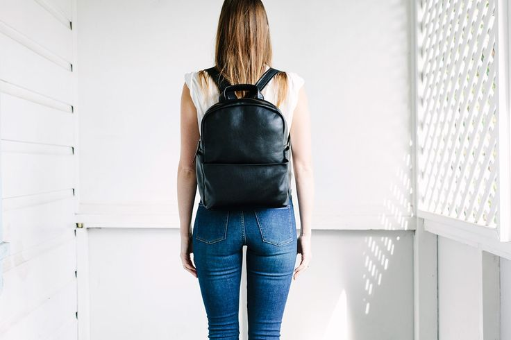 "In some ways, and bear with us as this is a little deep... we're all searching for 'people like us'.   Akin to humanity, the PLU bag is perfect for your daily travels in comfort, practicality and of course super-awesome appearance.   Made of premium full grain calf leather and featuring adjustable shoulder straps, outside zipper and side iPhone stash pockets, inside zipper and 13"" laptop sleeve.    It's the bag to journey well with you through all of life's wanderings.  35cm x 30cm x 11cm"