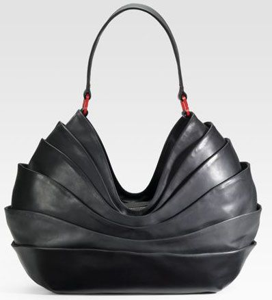 unusual purses and handbags | christian louboutin layered leather hobo Christian Louboutin Layered ...