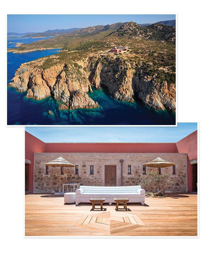 10 hotels pour une lune de miel en Italie Faro Capo-Spartivento, en Sardaigne