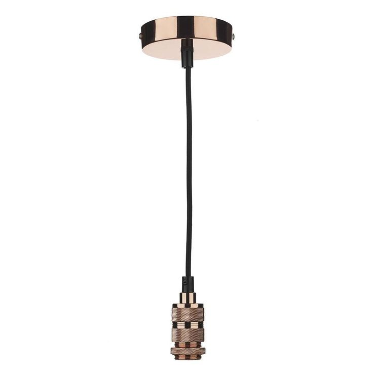 28 best lighting suspension kits images on pinterest blankets the dar pendant suspension kit in a copper finish with a black braided cable 40w mozeypictures Image collections