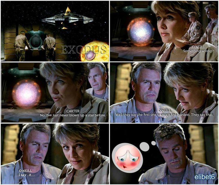 STARGATE SG-1 : SAM and JACK.  EXODUS 422