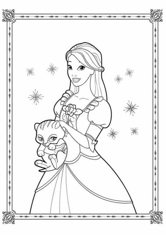 Printable Princess Coloring Pages Free Coloring Sheets Barbie Coloring Pages Mermaid Coloring Pages Princess Coloring Pages