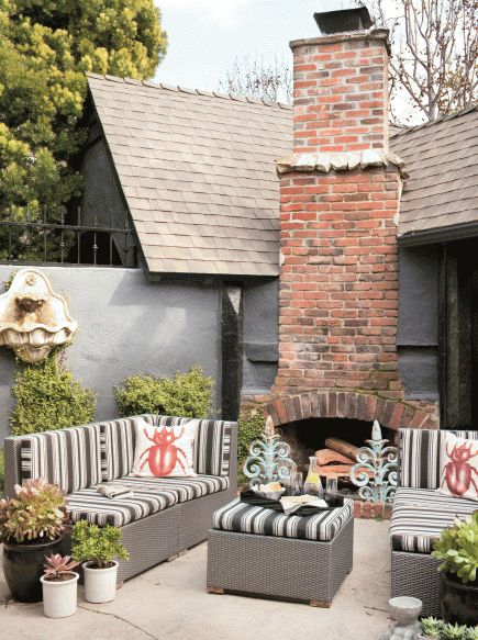 ideas about Outdoor Fireplace Designs on Pinterest