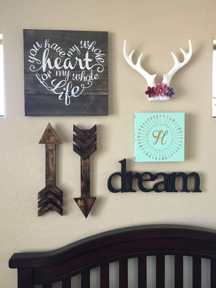 Rustic arrow wall decor/ nursery decor/ barn wood arrow/wooden arrow/ home decor/custom barn wood arrow by Rusticstyle23 on Etsy https://www.etsy.com/listing/273484366/rustic-arrow-wall-decor-nursery-decor