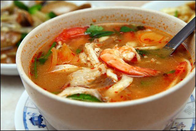Tomyam Putih Ala Restoran Thai Youtube Resep Masakan Malaysia Resep Makanan Sehat Makanan Sehat