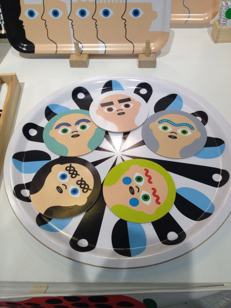 - eyebrow coaster series!