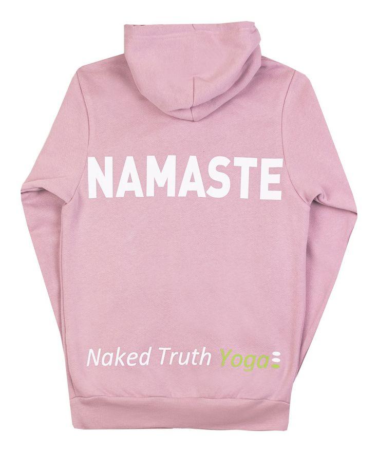 NT Yoga Namaste Pink Hoodie