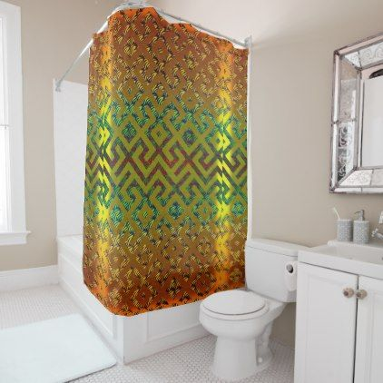 African Royalty Shower Curtain - home gifts cool custom diy cyo