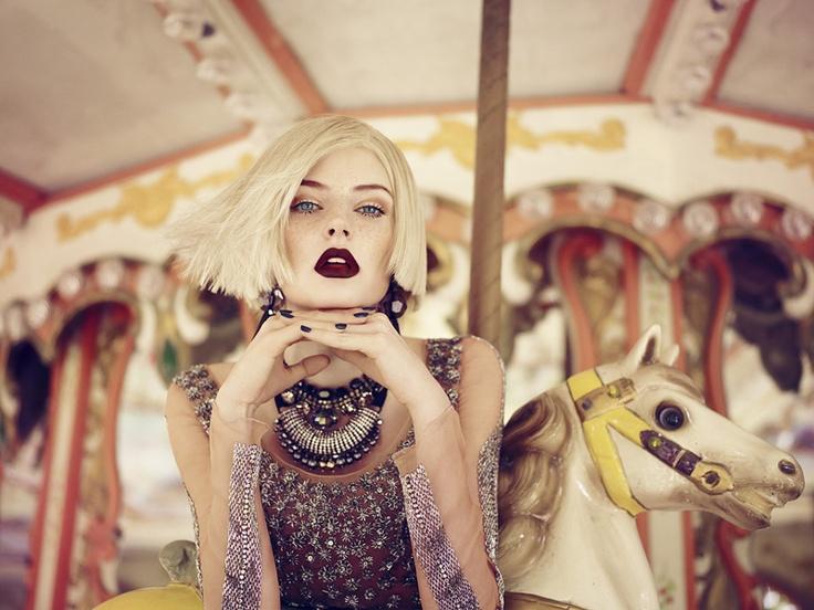 Gold Leopard: Fall Nostalgia / Vogue Portugal September 2011