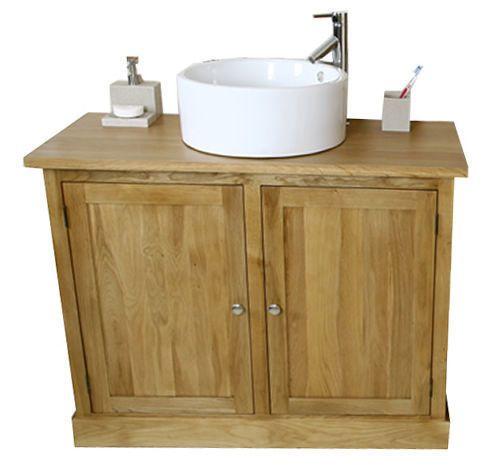 Solid-Oak-Vanity-Unit-with-Ceramic-Basin-Sink-amp-Tap-Bathroom-Furniture-1160