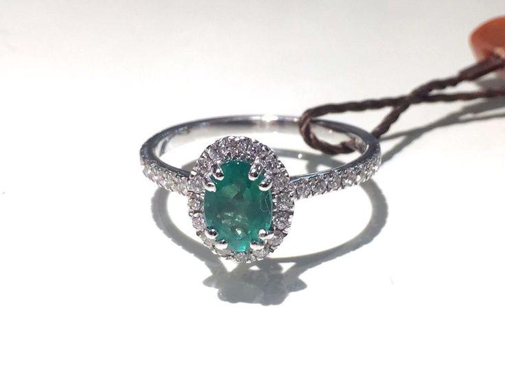 Visconti Preziosi Anello con Smeraldo e Diamanti Ring with Emerald and Diamonds