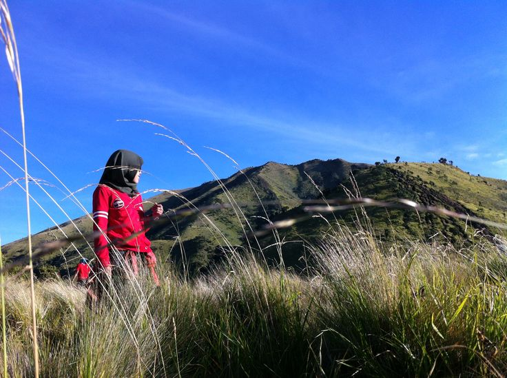 thats me on Sabana 1 Merbabu Mountain.