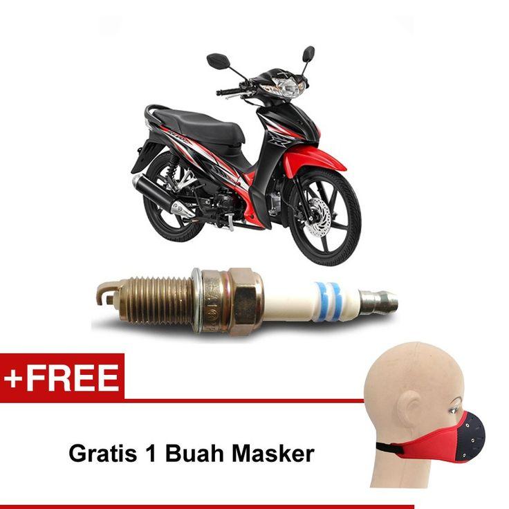 Bosch Busi Sepeda Motor Honda Revo UR4A130 Irridium - Gratis Masker  Kuat & Tahan Lama, Standard Pabrikan (OE like), Tidak Cepat Kering, Busi Berkualitas ORIGINAL dari BOSCH  http://klikonderdil.com/busi-motor/1220-bosch-busi-sepeda-motor-honda-revo-ur4a130-irridium-gratis-masker.html  #bosch #busi #busimotor #busiterbaik #hondarevo