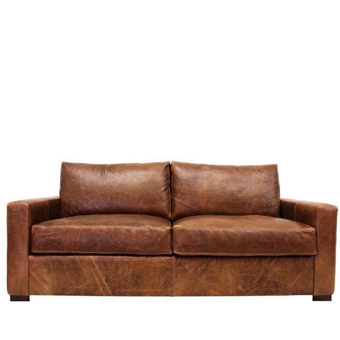 Prime Soren Leather Sofa In 2019 Rustic Leather Sofa Leather Machost Co Dining Chair Design Ideas Machostcouk