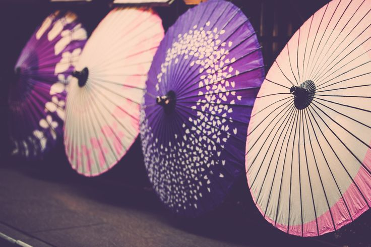 Asian Umbrella - Japanese Photography Fine Art Print, Wall Picture, Home Decor Art, Living Room, Living Room Prints, Paper Umbrella, Purple by SimoneDFPhotography on Etsy