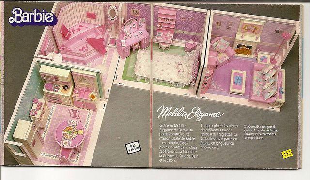 les 25 meilleures id es de la cat gorie barbie ann es 90. Black Bedroom Furniture Sets. Home Design Ideas
