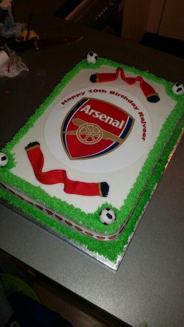 Arsenal Fc Cake Decorations