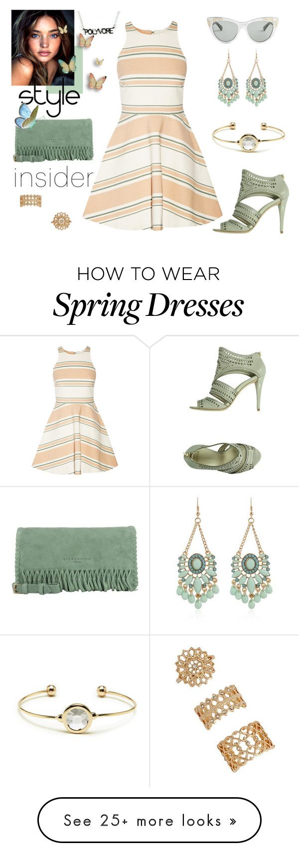 """""""spring breeze"""" by supabebek on Polyvore featuring Elizabeth and James, Gucci, Sole Society, Forever 21, Liebeskind and AERIN"""