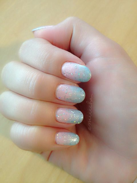 Cotton candy nails  by ⑅⑅✩ͬ✩ͥ✩ͪ✩ͦ⑅⑅ | We Heart It (383275)
