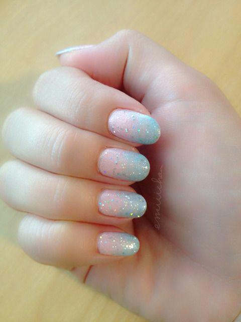 Cotton candy nails  by ⑅⑅✩ͬ✩ͥ✩ͪ✩ͦ⑅⑅ | We Heart It (383275)