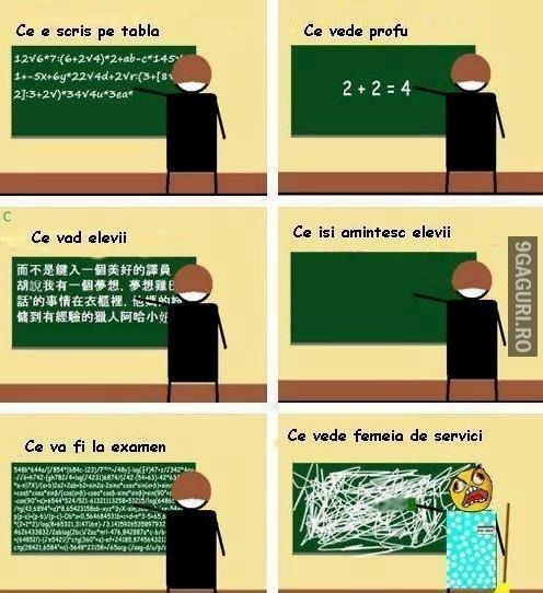 Ce se întâmplă pe tabla la școală http://9gaguri.ro/media/ce-se-intampla-pe-tabla-la-scoala
