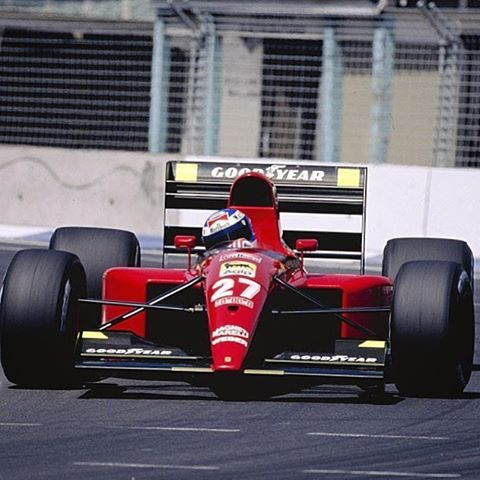 Formula 1 World Champion Ship Australian GP - Adelaide 1991 Gianni Morbidelli(ITA) Ferrari 643 Scuderia Ferrari