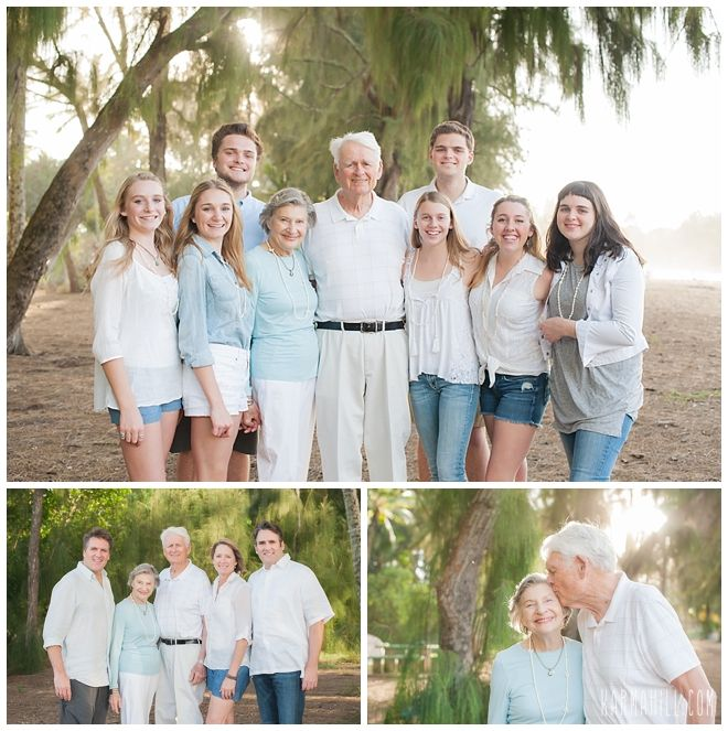 What to Wear? A guide to planning your wardrobe for your Maui family beach portraits for large groups