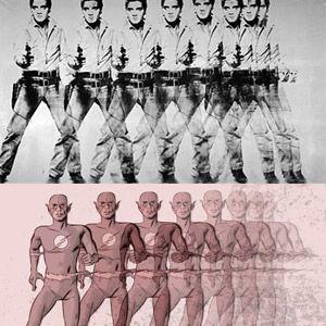 Sim! Elvis pode ser comparado com o Flash e o Coringa pode ser retratado em pop art! Conheça as paródias de quadros famosos.