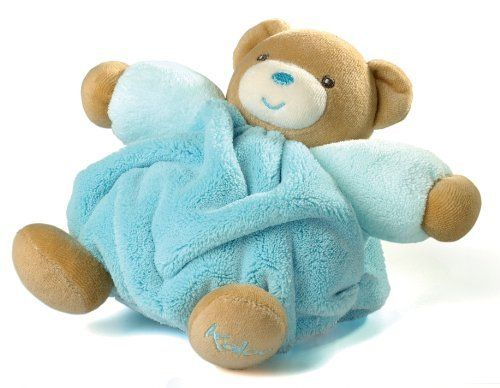 Kaloo Plume Bear, Small, Turquoise by Kaloo. Save 3 Off!. $25.23. Our Plume Collection Bears are made from the softest cotton and microfiber for lasting comfort. The unique embroidered face will captivate your little one ensuring they are kept close at hand.