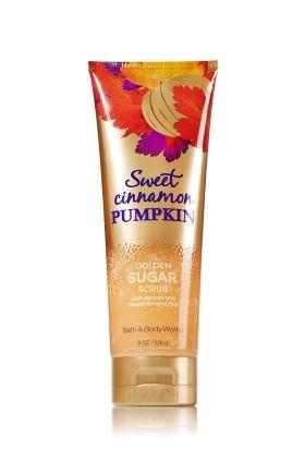 Sweet Cinnamon Pumpkin Golden Sugar Scrub - Signature Collection - Bath & Body Works