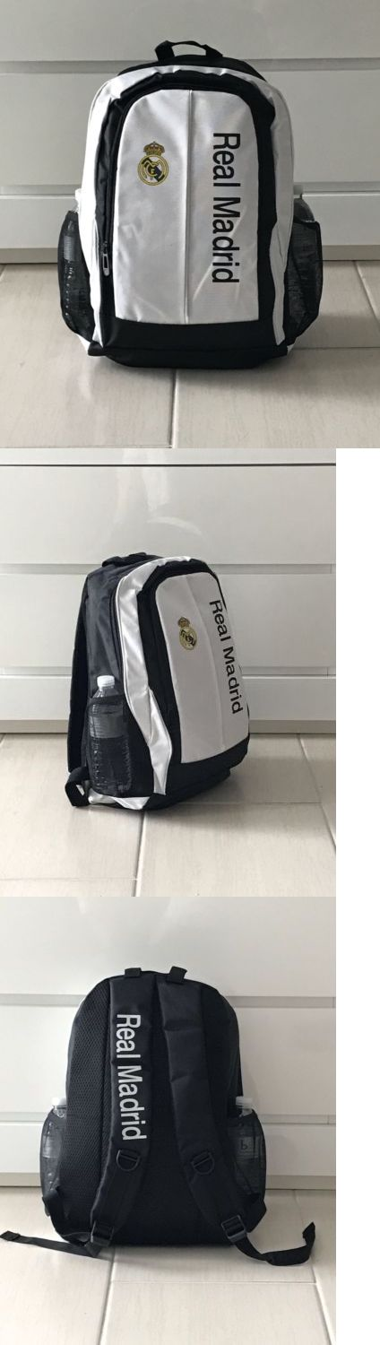 Soccer-International Clubs 2887: Real Madrid Backpack Bag School College Cr7 Modric Isco 2017 Canvas New! -> BUY IT NOW ONLY: $35.99 on eBay!