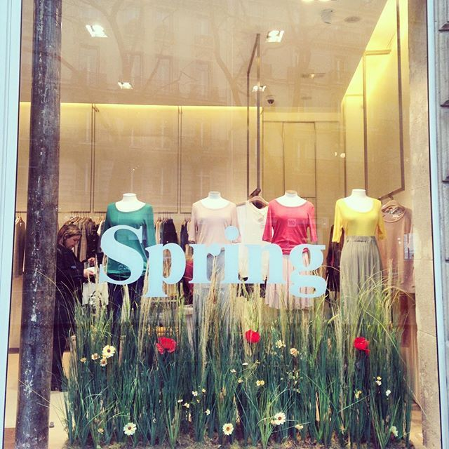 The 25 best spring window display ideas on pinterest for Retail store window display ideas