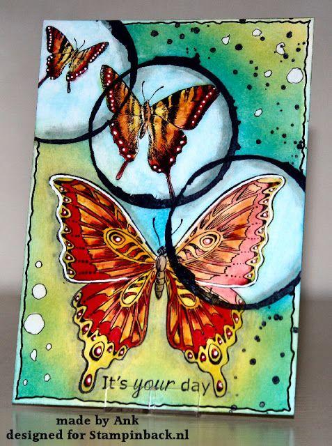 STAMPINBACK.NL: Vlinders voor een jarige