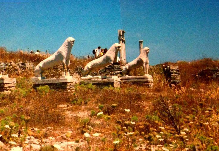 The Magical Island of Delos, Greece