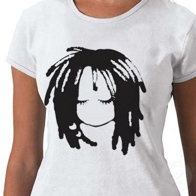 Handscreened Original Sisterlock  T-shirt  (S,M,L,XL,1X,2X,3X). $25.00, via Etsy.