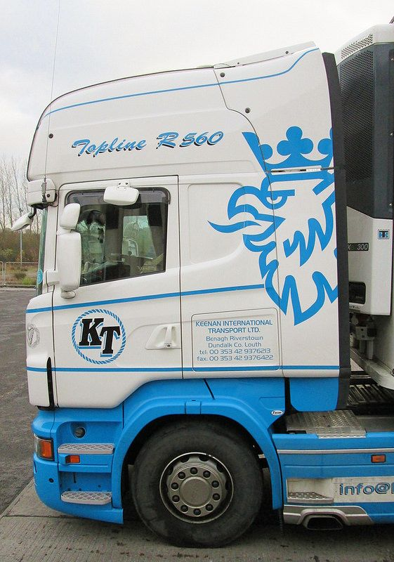 Keenan Transport Scania R560 December 2014