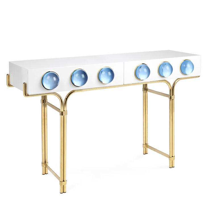 Globo Console Home FurnitureFurniture DesignLuxury FurnitureAccent FurnitureJonathan AdlerConsole