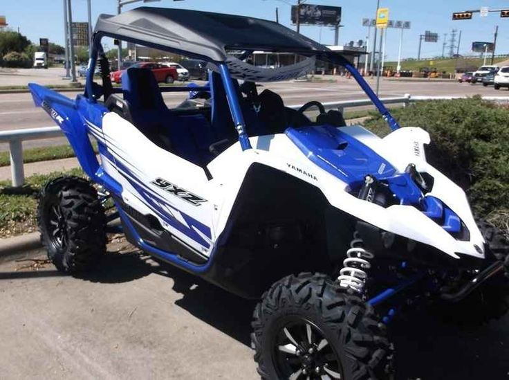 New 2016 Yamaha YXZ1000R Racing Blue/White ATVs For Sale in Texas. 2016 Yamaha YXZ1000R Racing Blue/White, 2016 Yamaha YXZ1000R Racing Blue/White w/Suntop THE WORLD'S FIRST PURE SPORT SIDE BY SIDE The all-new YXZ1000R. A sport 3 cylinder engine and class-defining 5-speed sequential shift transmission. Welcome to the ultimate pure sport SxS experience. Features may include: Unmatched SxS Performance The all-new YXZ1000R doesn t just reset the bar for sport side-by-sides, it is proof that…