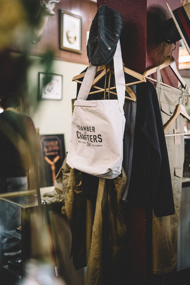 Eco bag. #chamber of crafters #grooming #barbershop #barber #menscare #skin care #beauty #keep prime #crafter #inspiration #new products #japanese #made in Japan #vintage #retro #pin up #men fashion http://chamberofcrafters.com/