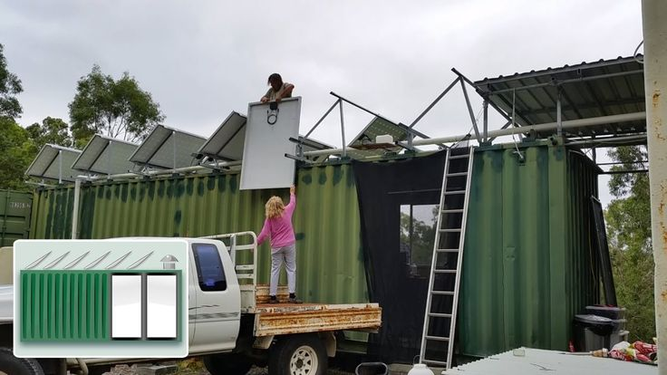 Paul chambers container house. Lots of helpful how tos. Australia.